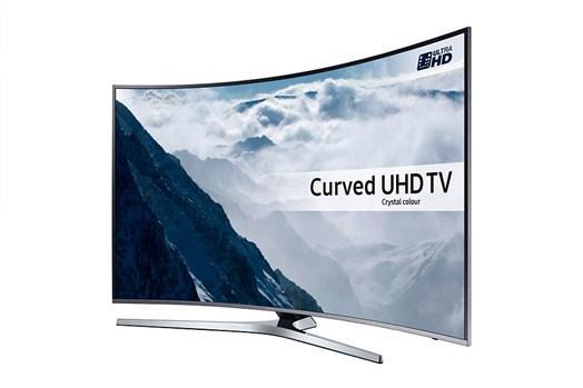 55 Samsung UE55KU6670 Curved Ultra HD HDR 4K Freeview HD Smart LED TV