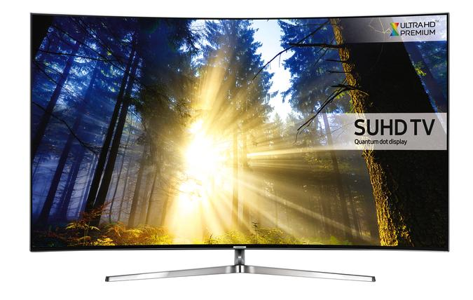 55 Samsung UE55KS9000 4K SUHD Freeview Freesat HD Smart Curved LED HDR TV